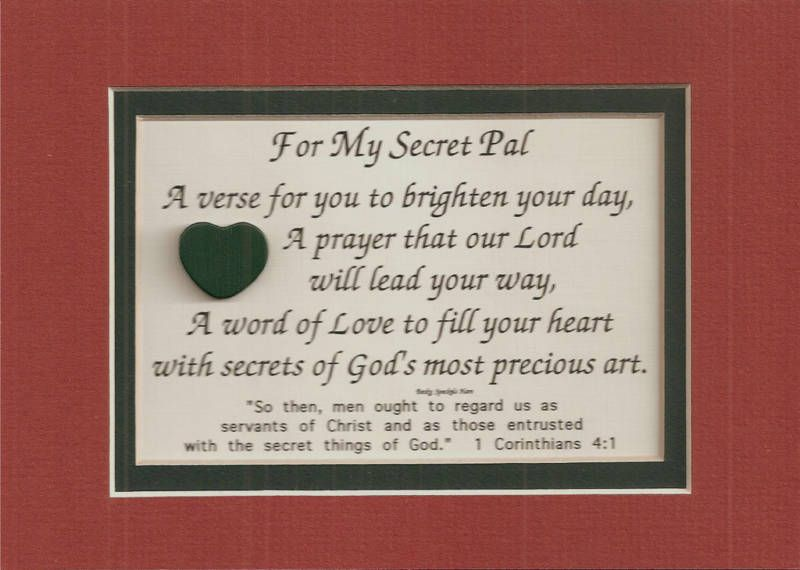 Secret Pal Sayings And Quotes. QuotesGram