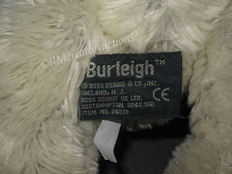 RUSS Berrie BURLEIGH Stuffed Plush Teddy Bear Toy 24019