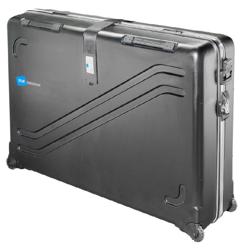 Largest Pro Bike Travel Case ABS hard shell 4 wheels