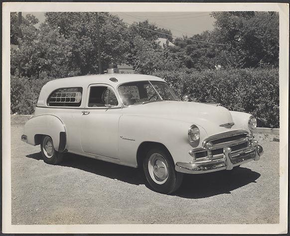 Car Photo 1950 Chevrolet Wagon Ambulance Chevy Ambulette 689502 |
